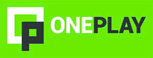 oneplay_logo_color_green_bg