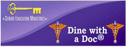 dine with a doc logo